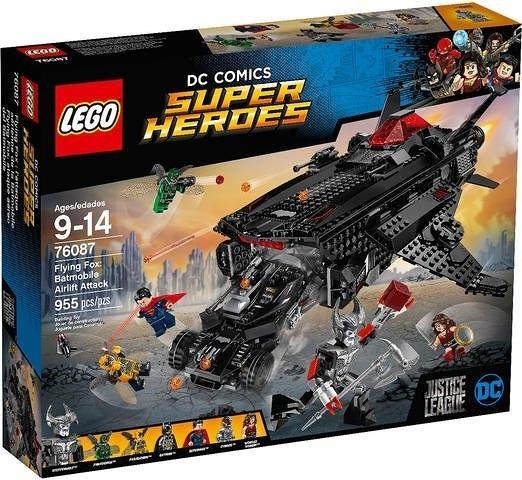 LEGO 樂高積木 LEGO 76087 超級英雄 DC系列 蝙蝠俠 超人 神力女超人 蝙蝠車 COCOS LG042