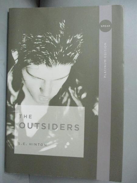 【書寶二手書T1/原文小說_YDW】The Outsiders_Hinton, S. E.