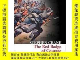 二手書博民逛書店Collins罕見Classics: The Red Badge Of Courage英文原版 經典文學 紅色英勇
