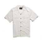 Kingpin Ss Shirt 短袖襯衫 - 米白色