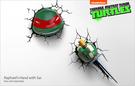 忍者龜3D造型壁燈/拉蜚爾(頭部)