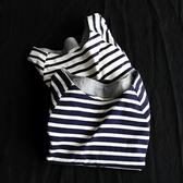 短袖T恤-經典條紋休閒百搭女打底衫2色73sj43【巴黎精品】