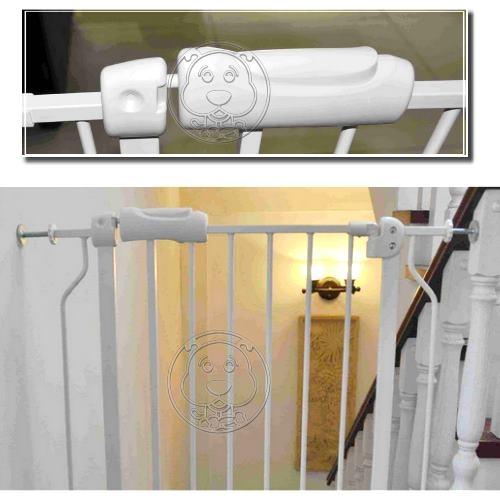 【培菓平價寵物網 】外銷歐美防護型寵物嬰兒伸縮樓梯柵欄延伸桿大42cm