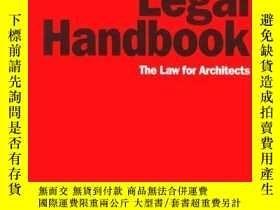 二手書博民逛書店Architect s罕見Legal Handbook: The