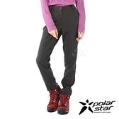 【PolarStar】女 Soft Shell保暖褲『炭灰』P20402 戶外│休閒│登山│露營│刷毛│冬季│禦寒│保暖