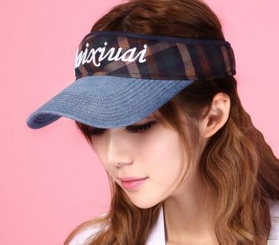 太陽帽女夏天戶外韓版遮陽帽防曬沙灘帽大沿可折疊防紫外線涼帽子 -uai0013