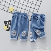 男童季牛仔褲1-2歲潮3兒童春裝女童休閒褲寶寶韓版小童長褲子 錢夫人小鋪
