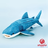 鯨鯊毛絨玩具 可愛鯨鯊公仔 超柔鯨鯊仿真動物 鯨鯊海洋動物