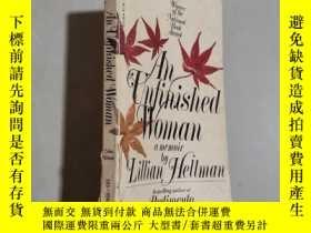 二手書博民逛書店An罕見Unfinished Woman: A Memoir b