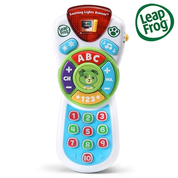 LeapFrog 跳跳蛙 Scout's Learning Lights Remote Deluxe 新版學習遙控器-Scout[衛立兒生活館]
