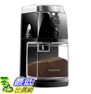 【美國代購】Chefman咖啡研磨機電動磨毛機新鮮8oz豆類大料鬥和17種研磨選項