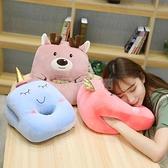 可愛辦公室午睡枕趴睡枕女生抱枕學生午休小枕頭桌上趴著睡覺神器 小明同學