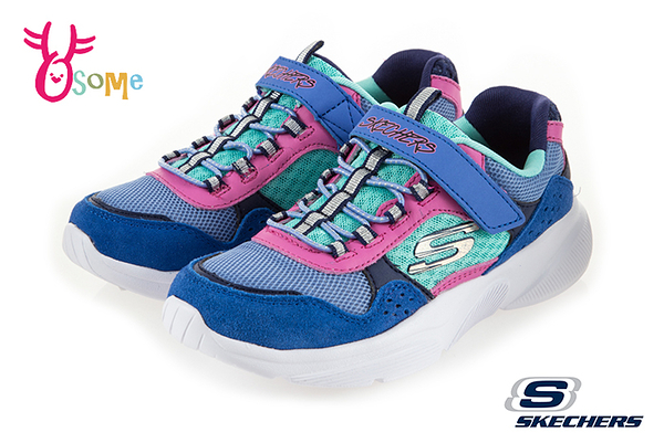 Skechers MERIDIAN 中大童 復古撞色拼布 運動鞋 慢跑鞋 S8217#配色◆OSOME奧森鞋業