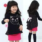 韓版《貓咪造型款》甜美長袖套裝