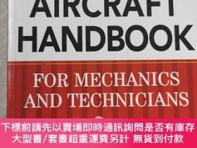 二手書博民逛書店Standard罕見Aircraft Handbook For Mechanics And Technicians