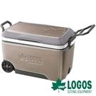 【日本LOGOS】LOGOS 拖輪行動冰箱-60L 露營 戶外 保冷 保冰 野炊 81670020