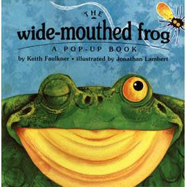 【麥克書店】THE WIDE-MOUTHED FROG /原文立體書《張開大嘴呱呱呱》