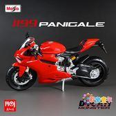 摩托車模型 摩托車模型合金成品杜卡迪1199 Paingale1/12仿真車模 美嘉 多款可選