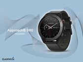 【時間道】GARMIN -預購- Approach® S60 高爾夫GPS觸控式智能腕錶 - 尊爵版 (免運費)