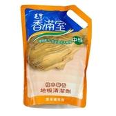 毛寶香滿室地板清潔劑補充包-檀木馨香1800g【愛買】