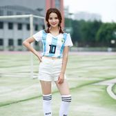 俄羅斯世界盃女球衣 德國阿根廷巴西葡萄牙西班牙法國梅西足球服 芥末原創