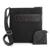PLAYBOY- 下沉式斜背包 Downtown系列-黑色