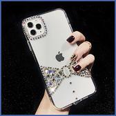蘋果 iPhone11 Pro Max SE2 XS MAX IX XR XS i8 Plus i7 i6S 寶石蝴蝶結 手機殼 水鑽殼 訂製