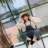 吊帶褲網紅減齡背帶褲女韓版寬鬆顯瘦百搭2020新款春季森女系小個子九分