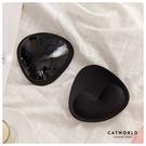 Catworld 黏貼式三角內衣胸墊【18003335】‧F