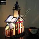 INPHIC-糖果屋手工玻璃燈具裝飾品兒童喜歡床頭櫃照明房子小夜燈造型燈造型夜燈_S2626C