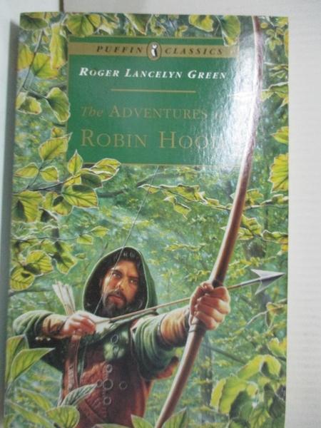【書寶二手書T5/原文小說_GZ8】The Adventures of Robin Hood
