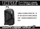 ∥MyRack∥ 都樂 Thule Subterra Luggage 70cm/28吋 黑色 滾輪式旅行箱 託運旅行箱