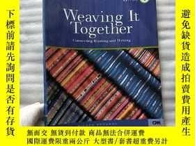 二手書博民逛書店Weaving罕見It Together 1 connecting reading and writing 16開