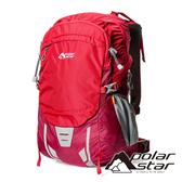 【PolarStar】透氣網架背包30+5L『紅色』P18745 露營.戶外.旅遊.多隔間.登山背包.後背包.肩背包