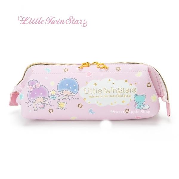 日本限定 三麗鷗 雙子星 KIKI & LALA 沐浴版 筆袋 / 收納袋 / 鉛筆盒