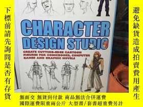 二手書博民逛書店CHARACTER罕見DESIGN STUDIOY13822 CHARACTER DESIGN STUDIO