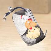 Kiro貓‧小雞家族鑰匙包/零錢包/硬幣包/卡片包/小物收納包【222716】