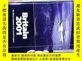 二手書博民逛書店Britain罕見2001The official Yearbook of the united kingdom【