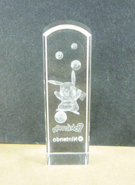 【震撼精品百貨】神奇寶貝_Pokemon~水晶印章-皮卡丘(白)