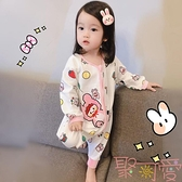 寶寶連體睡衣薄款男女童睡袋四季通用兒童可愛【聚可愛】