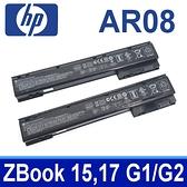 HP AR08 8芯 . 電池 ZBook 15 ,17 G1 G2 HSTNN-IB4H HSTNN-IB4I AR08XL HSTNN-C77C 707614-141 708455-001