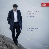 """【停看聽音響唱片】【CD】史麥塔納/李斯特""""鋼琴作品集 米羅斯拉夫.塞克拉 鋼琴"""