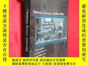 二手書博民逛書店Openness,罕見Secrecy, Authorship: