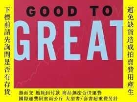 二手書博民逛書店英文原版書罕見Good to Great: Why Some Companies Make the Leap...