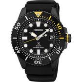 【5年保固卡】SEIKO 精工 PROSPEX SCUBA 太陽能腕錶-黑水鬼 V157-0BT0SD(SNE441J1)