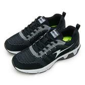 LIKA夢 ARNOR 輕量Q彈避震科技動能慢跑鞋 LUNAR RUN 1 系列 黑白 73260 男