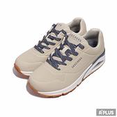 SKECHERS 女 慢跑鞋 UNO Highlines 支撐 緩衝 奶茶色 皮革 氣墊 焦糖底-155172NTBL