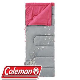 【Coleman 美國 夜光型兒童睡袋 C7 桃紅】 CM-22263/兒童睡袋/睡袋★滿額送
