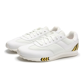 PONY 休閒鞋 MONTREAL 白 黃條 網布 運動 男 (布魯克林) 82M1MO01RW