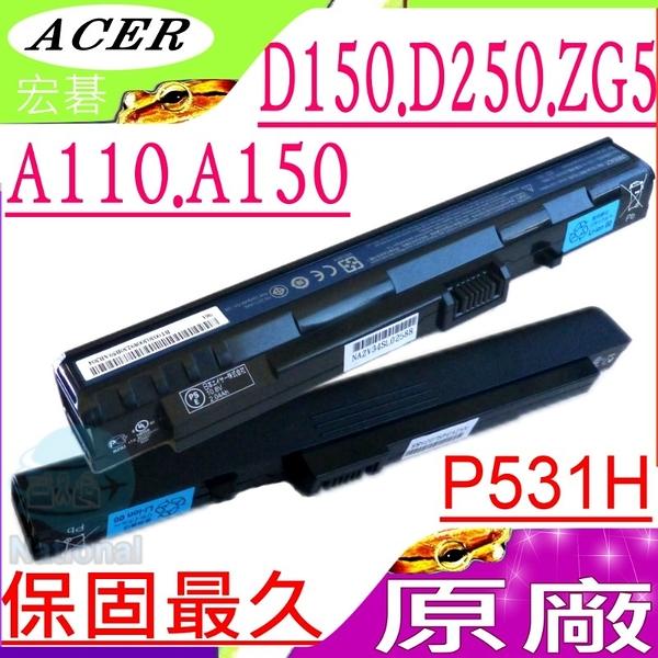 Acer 電池(原廠3芯/黑)-宏碁AS1電池,AOD150,AOA110,AOA150,A110電池,A150,D150,D250電池,P531H,ZG5電池